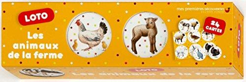Les animaux de la ferme: Loto par Collectif
