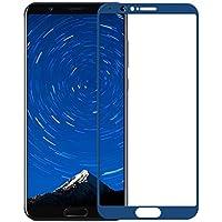 [2 Pack] Huawei Honor View 10 Protector de Pantalla,Electro-Weideworld 3D Pro-Fit Pantalla Completa Cristal Templado Pantalla Protectora Para Huawei Honor View 10,Azul