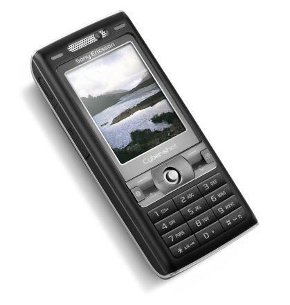 Handy Sony Ericsson K800i Velvet Black Vodafone Branding ohne Simlock