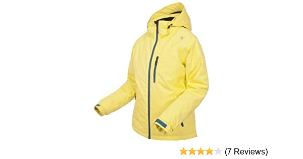 7e50b03c72 Trespass Jara Ski Jacket for Women Yellow Jaune - Jaune pâle Size XXS   Amazon.co.uk  Sports   Outdoors