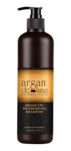 Arganöl Shampoo in Friseur-Qualität ✔ stark pflegend ✔ Geschmeidigkeit, Glanz, toller Duft ✔ Argan DeLuxe, 500ml