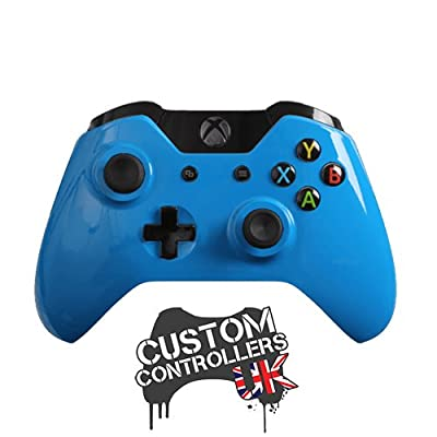 Xbox One Custom Controller - Gloss Blue