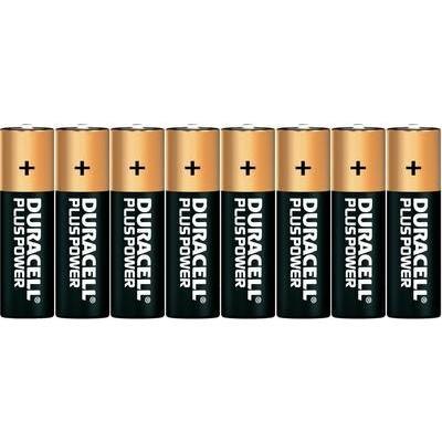 Pile LR6 (AA) alcaline(s) Duracell DUR017764 Plus Power LR06 1.5 V 8 pc(s)