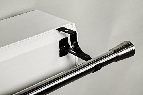 1soporte sin agujeros Geko para barra de cortinas Diámetro 20mm–Especial–Subwoofer de persiana...