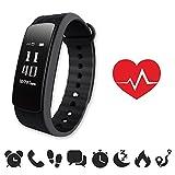 endubro i3HR - MANUALE E APP IN ITALIANO - Braccialetto fitness con misurazione frequenza cardiaca /...