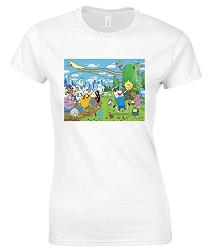 Adventure Time Land Maglietta delle donne Large