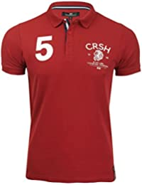 Crosshatch 'Morristown' T-shirt/ Polo à manches courtes - Homme (Noir) M xjI6jpyo