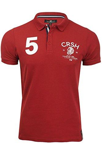 Crosshatch Pique-Poloshirt