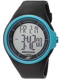 Sonata Ocean Digital Grey Dial Men's Watch -NH7992PP12