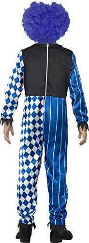 Imagen de smiffy's  disfraz deluxe siniestro payaso, color azul 44327m  alternativa