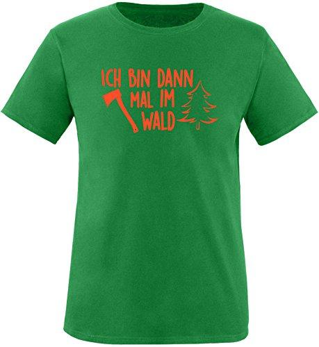 EZYshirt® Ich bin dann mal im Wald Herren Rundhals T-Shirt