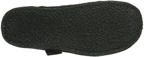 Stegmann Stegmann 301, Chaussons Mules Doublé Chaud Adulte Mixte Noir (black 8954)