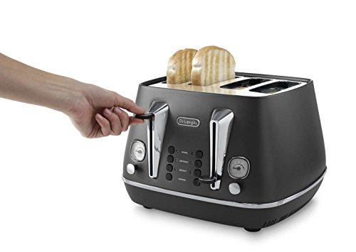 De'Longhi Distinta CTI4003W 4-Slice Toaster