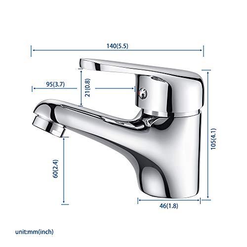 sif/ón cromado 32 mm Sif/ón de tubo desmontable 1 1//4 tubo de inmersi/ón conexi/ón de drenaje Instalaci/ón sin herramientas Oladwolf Sif/ón de desag/üe universal para fregaderos y lavabos