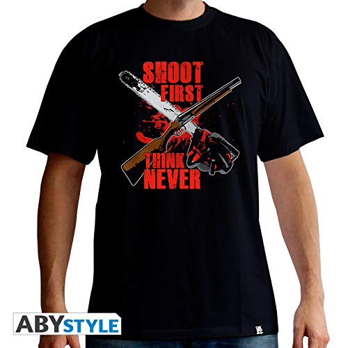 3639d55ce ABYstyle Ash Vs Evil Dead - Camiseta Shoot First (XL)