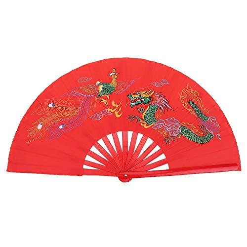 Starbun Ventilador de Seda - Formación práctica de la Danza Rojo Tai...
