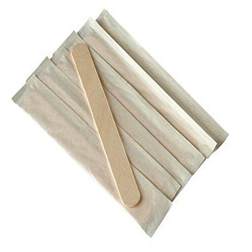 Hosaire 10 Stück Holzstiele Passend für Silikomart-Eisformen Holz Ice Sticks Holzstäbchen