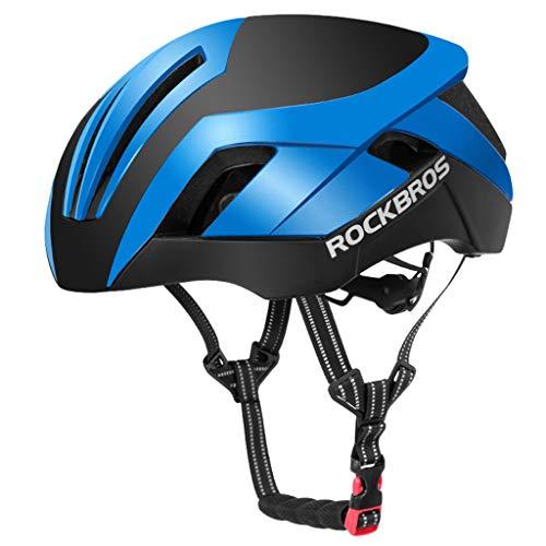 wthfwm Smart Fahrradhelm, Herren Straßenrennen Fahrradhelm, Fahrradhelm, Mountainbike Helm, Unisex Verstellbarer Helm,C-57/62cm