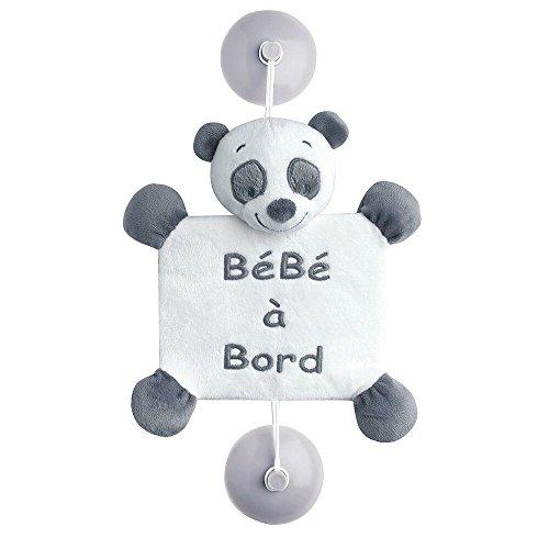 Signalétique Bébé à bord Loulou le panda Léa, Loulou et Hippolyte - Nattou