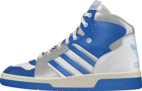 chaussure homme en cuir Adidas INSTINCT OG B35301 44-2/3 bianca-azzurra-argento