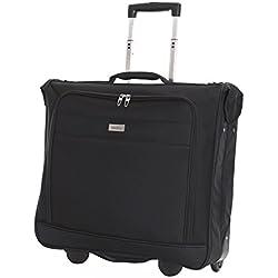 Karabar Housse de Voyage pour Transport de Vêtements avec 2 Roues 1 Metre 3,5 kg 55 Litre, Stanley Noir