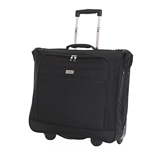 Karabar Lightweight Wheeled Garment/Suit Carrier (Stanley Black)