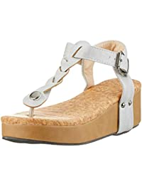 Sandalias Mujer Cuña Alpargatas Plataforma Bohemias Romanas Flip Flop Mares Playa Gladiador Verano Tacon Planas Zapatos
