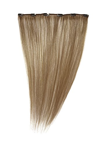 Love Hair Extensions Clip-In Haarverlängerung 100% Echthaar, 45 cm, Farbe 12 Golden Brown