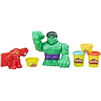 Hasbro e1951eu5 Marvel Hulk, plastilina, unisex de Child