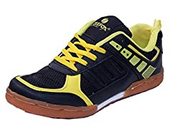 Zeefox Pace Mens Badminton Shoes (Yellow) (8)