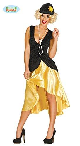 KOSTÜM - 20er JAHRE - Größe 42/44 (L), USA 30er Jahre Flapper Charleston Tanz Tänzerin Gesellschaftstanz Prohibition 20. (Kostüm Halloween Tänzerin Flapper)