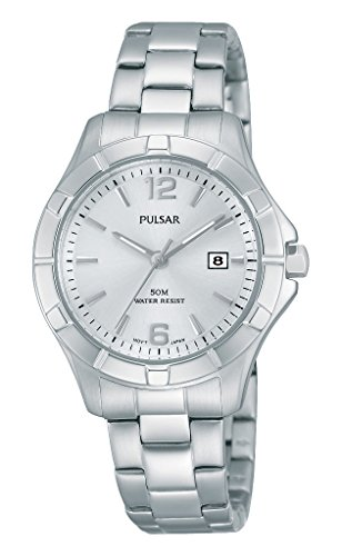 Pulsar Ladies Watch XS Classic Analogue Quartz Stainless Steel PH7381 x 1