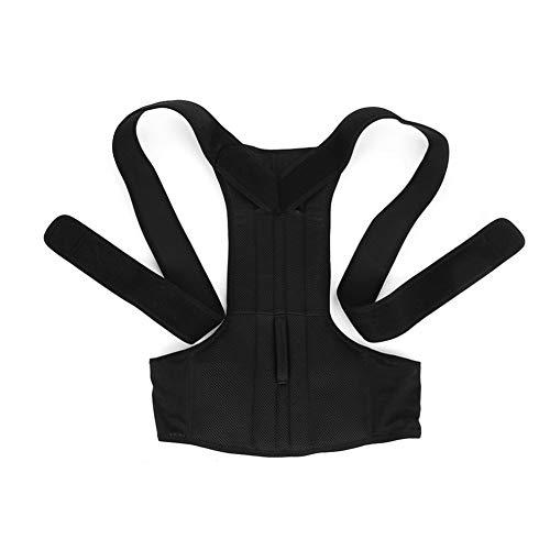 Preisvergleich Produktbild Mouchao Adjustable Posture Corrector Shoulder Support Back Pain Brace Band Belt Unisex