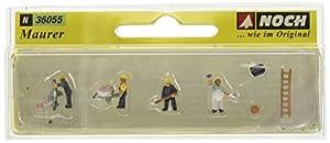 NOCH 36055 Figures parte y accesorio de juguet ferroviario - partes y accesorios de juguetes ferroviarios (Figures, NOCH, Multicolor)