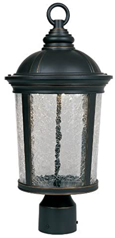 Designers Fountain LED21346-ABP Winston Post Lanterns, Aged Bronze Patina by Designers Fountain
