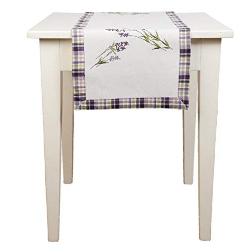 Clayre & Eef s004.065 Lavande Amour Chemin de Table Approx. 40 X 120 Cm