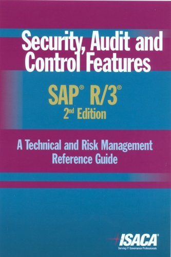 Security, Audit and Control Features SAP R/3: A Technical and Risk Management Reference Guide, 2nd Edition by Deloitte Touche Tohmatsu Research Team (2006-03-01) par Deloitte Touche Tohmatsu Research Team; ISACA;