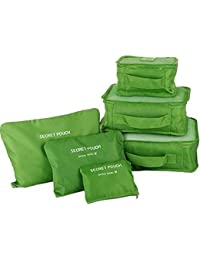 DLIVE Multipurpose Bags In Bag Travel Organzier Storage Bag Set Of 6(Multi Color)