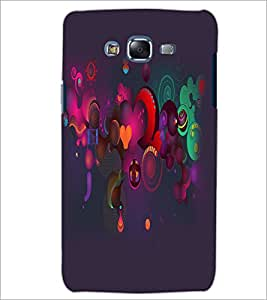 PrintDhaba Pattern D-2159 Back Case Cover for SAMSUNG GALAXY ON 7 (Multi-Coloured)