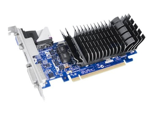 Asus GeForce GT210-1G 32bit low profile Grafikkarte für leise HTPC builds (Nvidia, PCIe 2.0 x16, TC1GB DDR3 Speicher, HDMI, DVI)