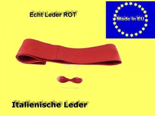 Preisvergleich Produktbild Lenkradschoner/echt Leder/Lenkradhülle/ Größe XL 41-43 CM/Lenkradbezug
