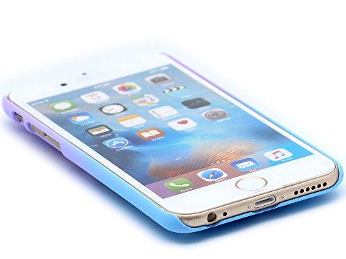 iPhone 5 / 5S / SE Custodia Cover , Keyihan Nido duccello cava Scolpita Trasferimento di calore Design Protettiva Case per lestate per Apple iPhone 5/5S/SE (Blu) Blu