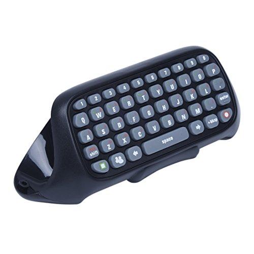 TOOGOO(R) Teclado Chatpad para Xbox 360 Controlador de Juego Entrada de Texto