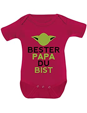 Mikalino Babybody Papa Du Bist Kurzarm