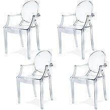 Lot chaises transparentes - Chaises pliantes transparentes ...