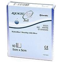 AQUACEL Ag Silber hydrofaser-Wundkompresse, 10cm x 10cm x10s7506ag preisvergleich bei billige-tabletten.eu