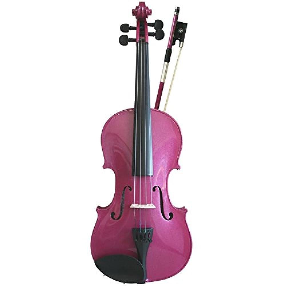 Primavera Set mit Violine/ Geige in 1/4-Größe, Rainbow Fantasia Pink