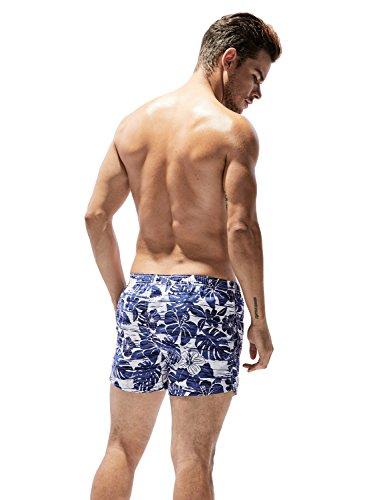 SEOBEAN Herren Badehose Badeshorts Board Shorts Strand Shorts 2923