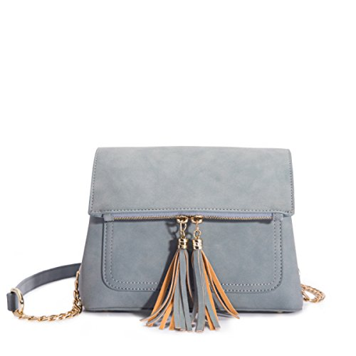 HAOXIAOZI Sac à Bandoulière Simple Messenger Bag,Blue