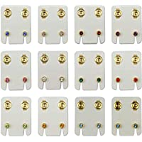 Earring for Women, Stud - Other Material - 12 Piece